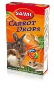 Carrot,vilda bär,yoghurt,jordgubb Drops