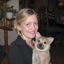 IMG_0606 Josefin med en ny kompis