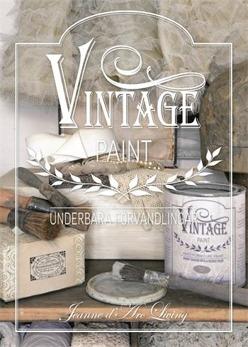 Vintage Paint del 2, bok - Vintage paintbok, färgrika förvandlingar