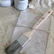 Vintage Paint tillbehör - Rak pensel 37mm