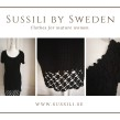 Salsa - Salsa klänning, handgjord, bomull, svart