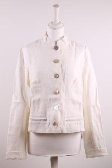 Jenny - Jenny kavaj i linne, varm vit