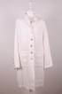 Hanna - Hanna kappa med luva i varm vit linne