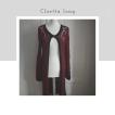Cloetta Long - Cloetta long vinröd med svarta detaljer