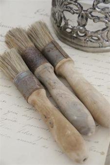 Vintage Paint tillbehör - Rund pensel 2,6 diameter