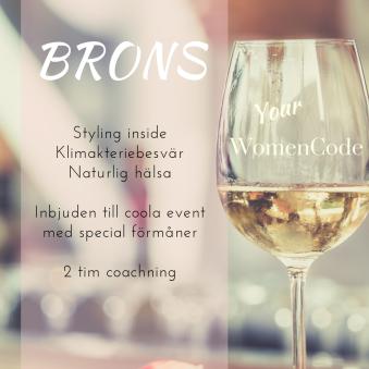 Your WomenCode, BRONS - Your WomenCode, Brons package