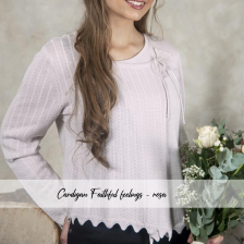Cardigan - Faithful feelings - Rose