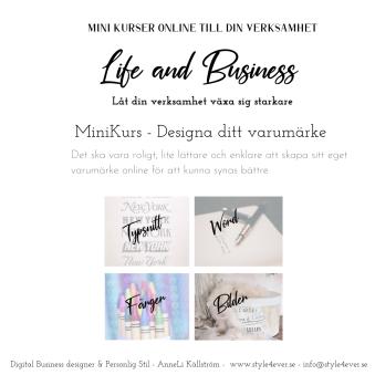 Designa ditt Personliga varumärke - Designa ditt personliga varumärke online med färger,typsnitt, bilder och text