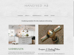 Hanefred - Lidhults Kök - Knoppar & Beslag