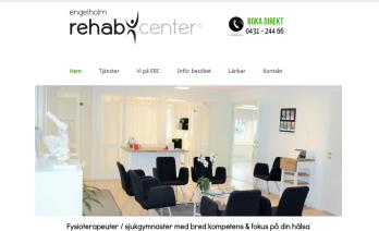 Hemsidesuppdrag: Engelholm Rehab Center