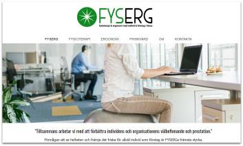 Hemsidesuppdrag: FYSERG