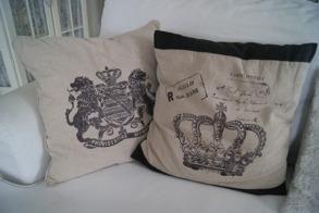 Kuddfodral - Kuddfodral krona
