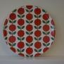 Rund bricka från Floryd - Rund bricka lingonberry pattern