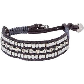 Armband - Armband med silverkulor