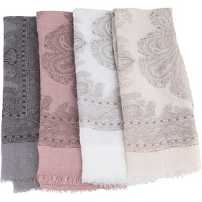 Scarf i pastell - Scarf beige