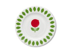 porslins assiette - Porslins assiette lingonberry