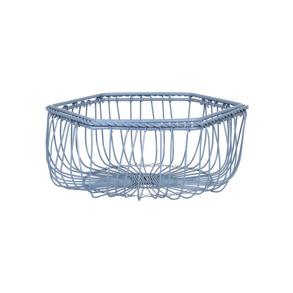Trådkorg AGNES 2 storlekar, blå - Liten