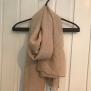 Mönstrad vårsjal - Småmönstrad sjal rosa