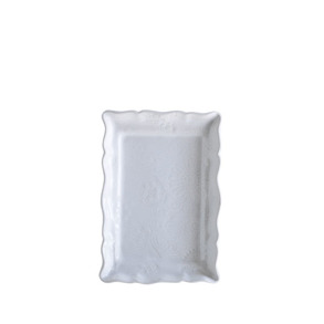 Delikatessfat Sthål - Delikatessfat, vit
