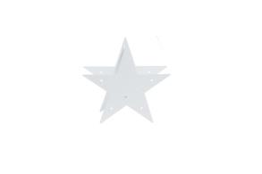 Stjärna - Stjärna Gårdsby vit