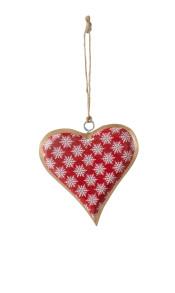 Hjärta Gloria - Hjärta Gloria röd