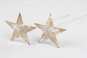 Stjärna på stick - stjärna på stick small 5cm