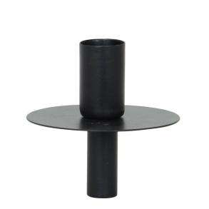 Ljushållare för flaska - Ljushållare för flaska svart
