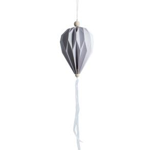 Boviken luftballong - Boviken luftballong grå Stor