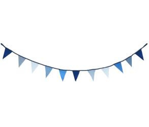 Vimplar - Vimplar blå/grå