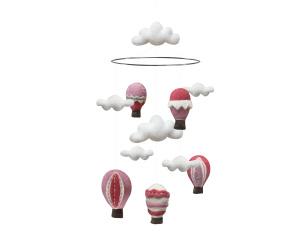 Mobil Luftballong - Mobil luftballong rosa