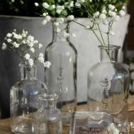 Glasflaska/vas från Majas Cottage