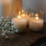 Ljuslyktor Etnic star - Stort värmeljus Majas Cottage 20h