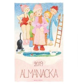 Almanacka Birgitta Lindeblad - Almanacka vägg 2019