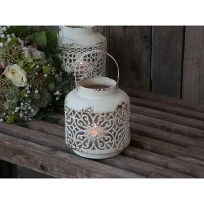 Lanterna - Lanterna liten antikvit med mönster