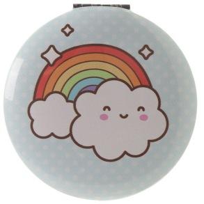 Fickspeglar - Fickspegel moln/regnbåge
