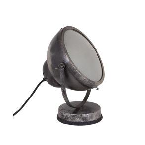 Vägg/bordslampa - Vägg bordslampa i antik silver