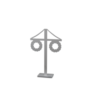 Midsommarstång - Midsommarstång vit 30cm
