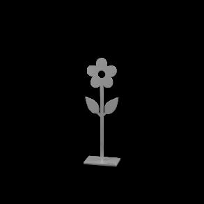 Blomma på fot - Blomma på fot vit 50cm