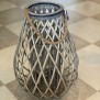 Lantern braided - Lantern large 50x36cm i diameter