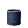 Ljuslykta med tygöverdrag Shade Linn - Mörkblå L