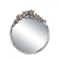 Spegel med rosendekor