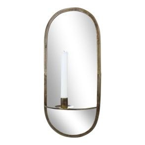 Spegel med ljushållare - Spegel med ljushållare