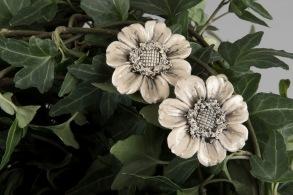 Blom-stick - Blomstick beige
