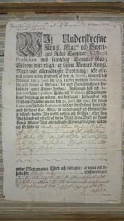 Köpekontraktet från 1721