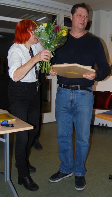 Årets honungs vinnare Jörgen Nisson 2016