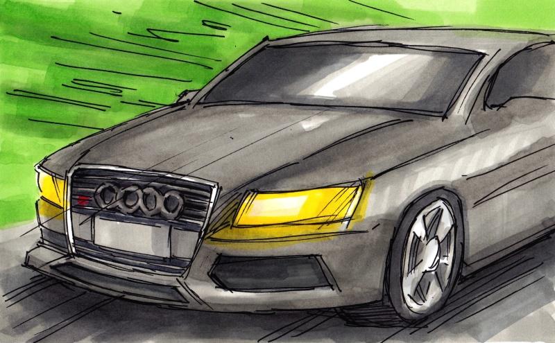 Audi A4 TDI. En filmproduktion för den internationella marknaden.