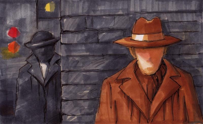 En kortfilmsidé i spionernas värld.