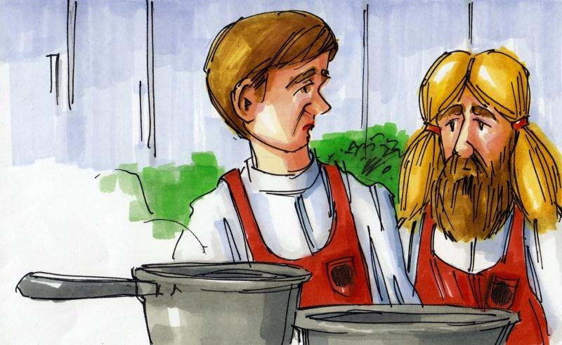 Matlagning i verkligheten, ett reklamfilmskoncept för Kungsörnen.
