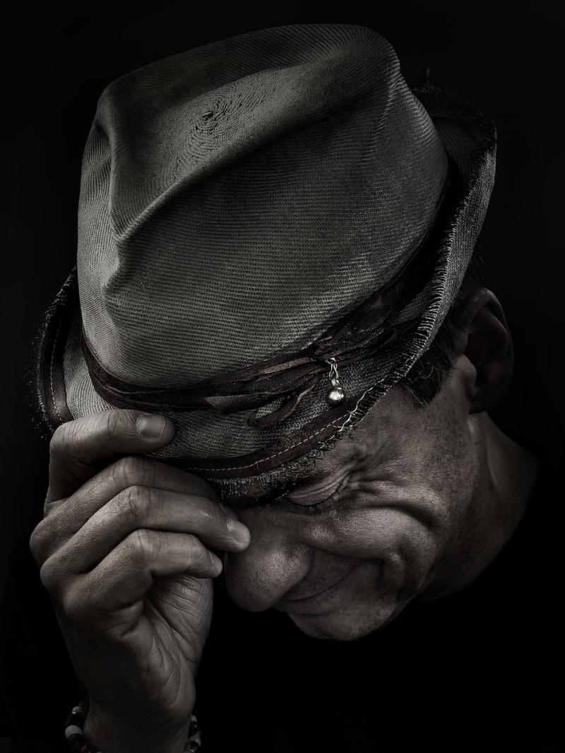Hans Ahlgren, fotograferad av Adrian Burt.