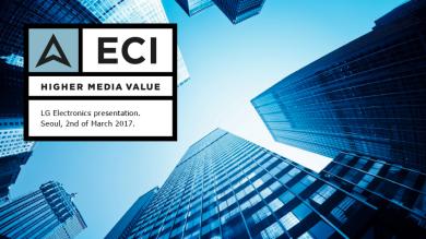 Logotyp och designprogram för ECI.